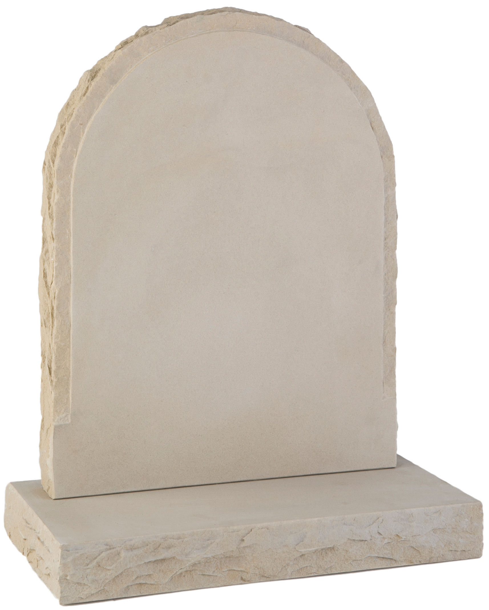 16123 Pitched margin headstone