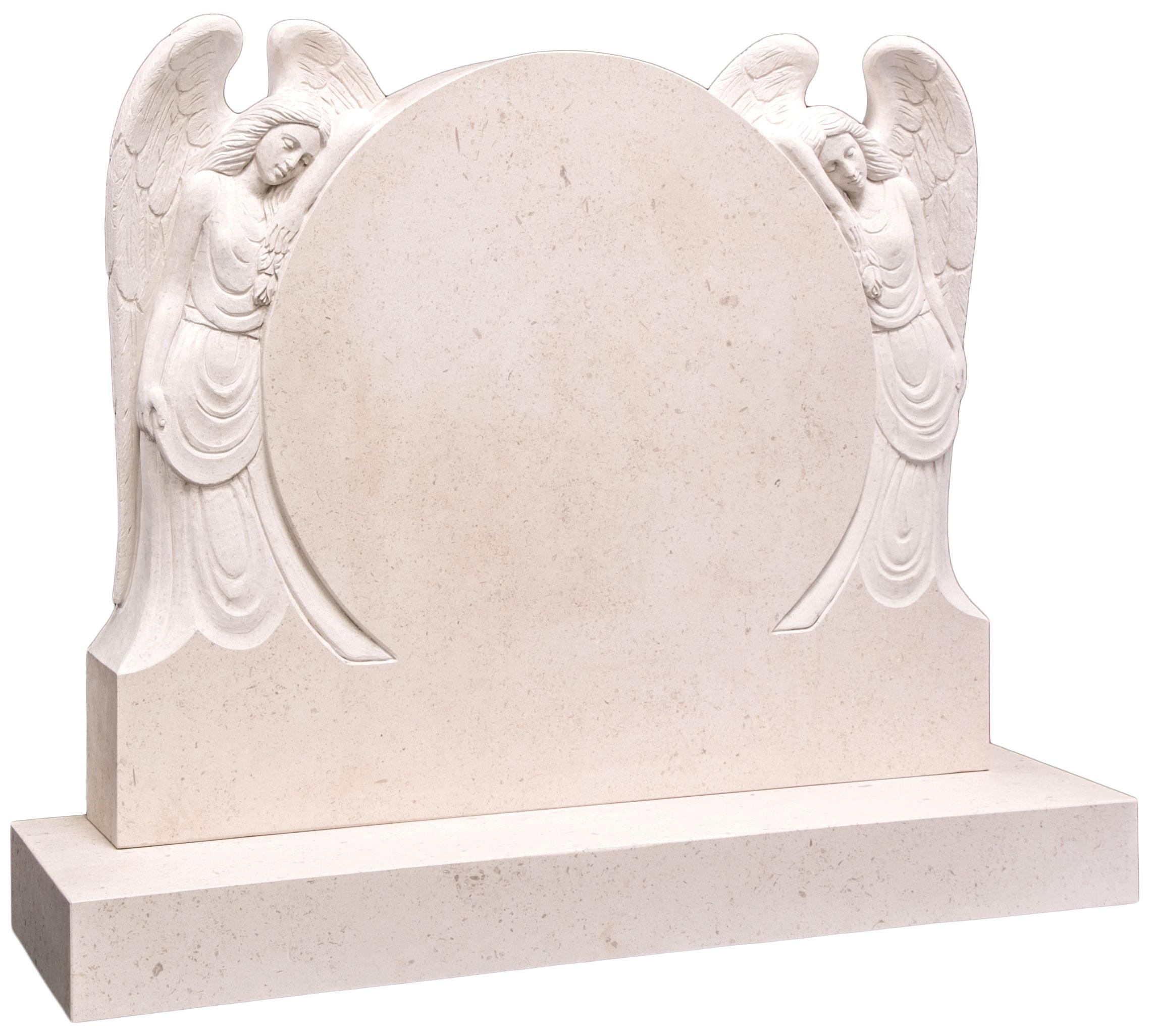 16126 Large impressive headstone