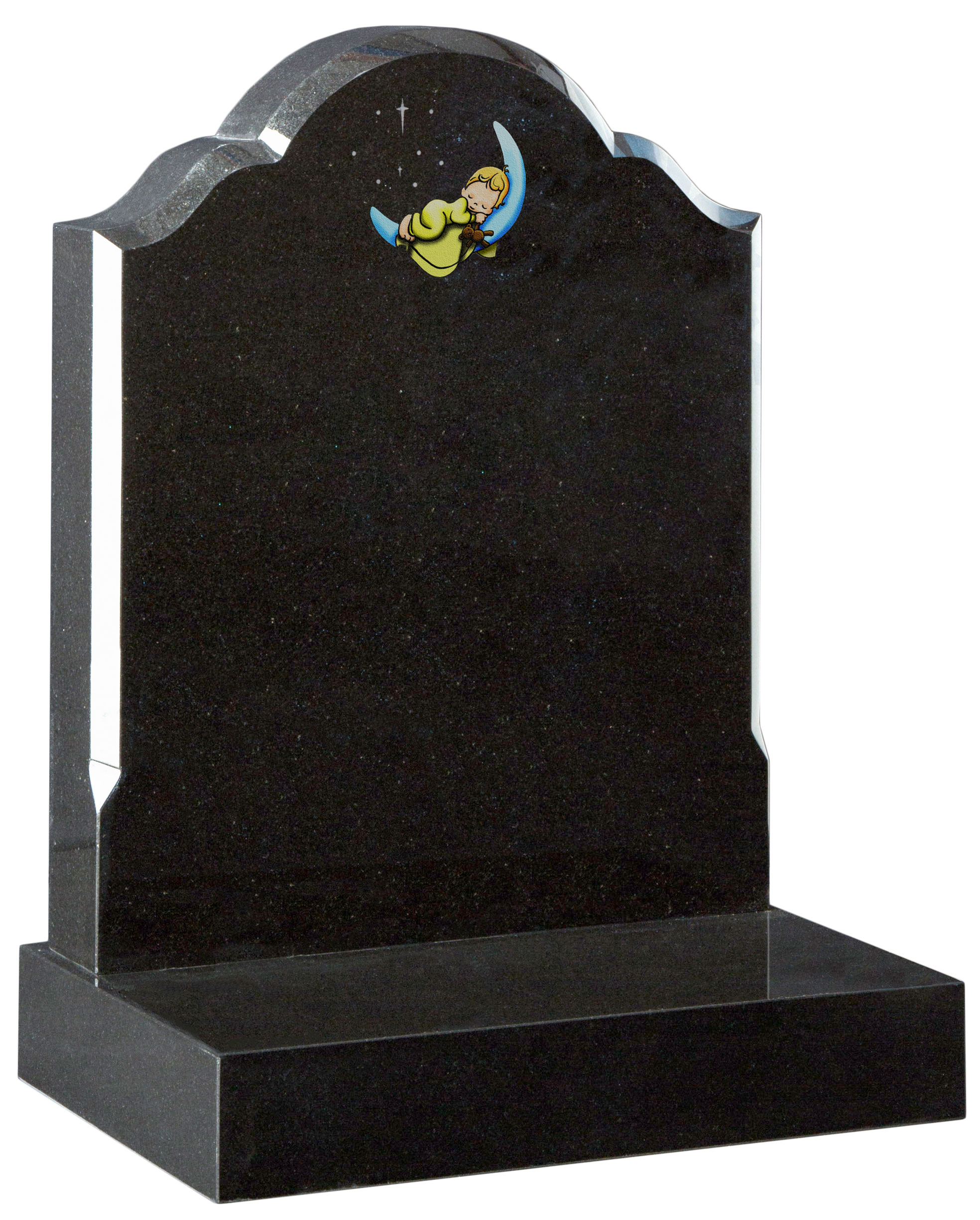 16162  Organically shaped headstone