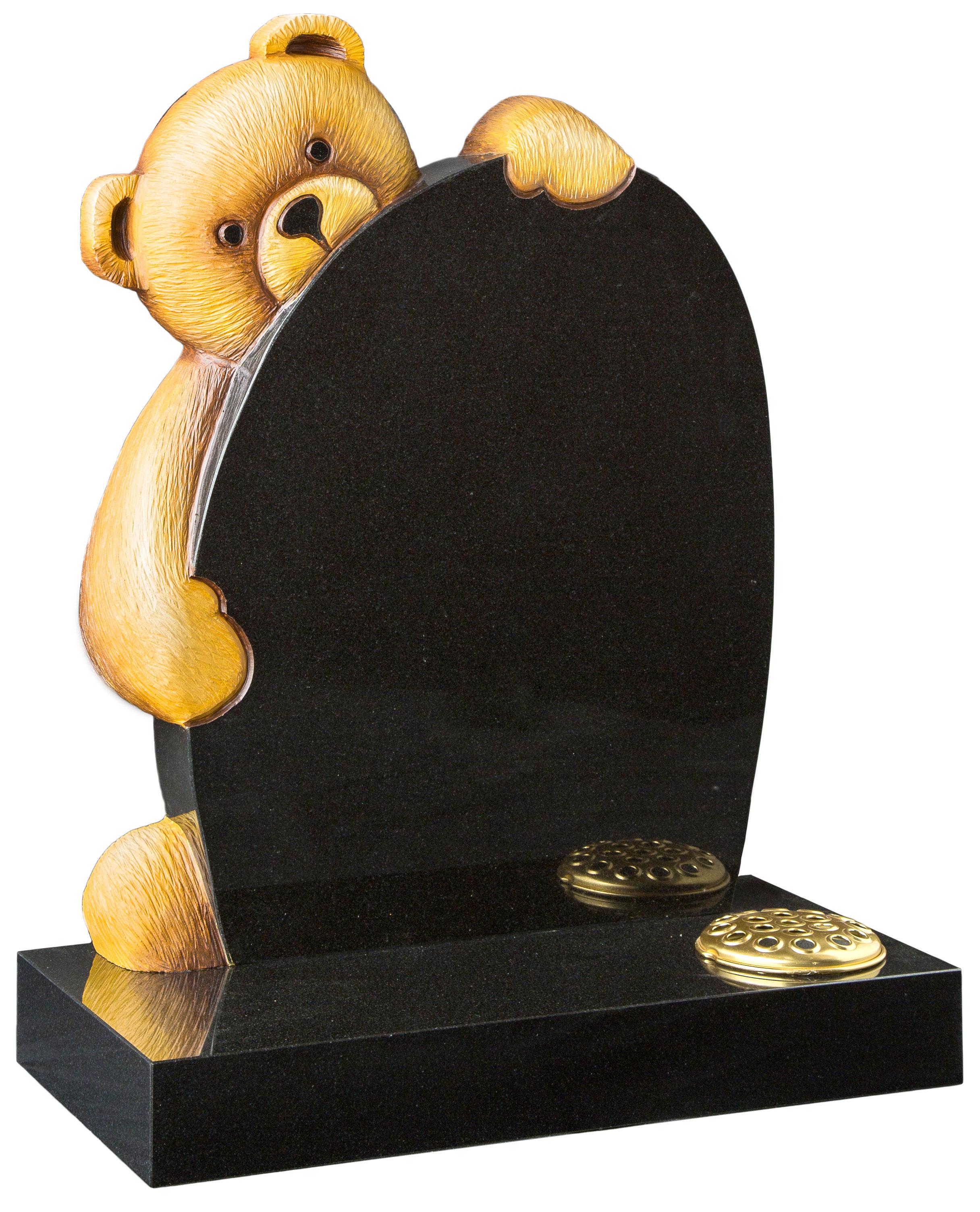 16178 Fully Carved Teddy