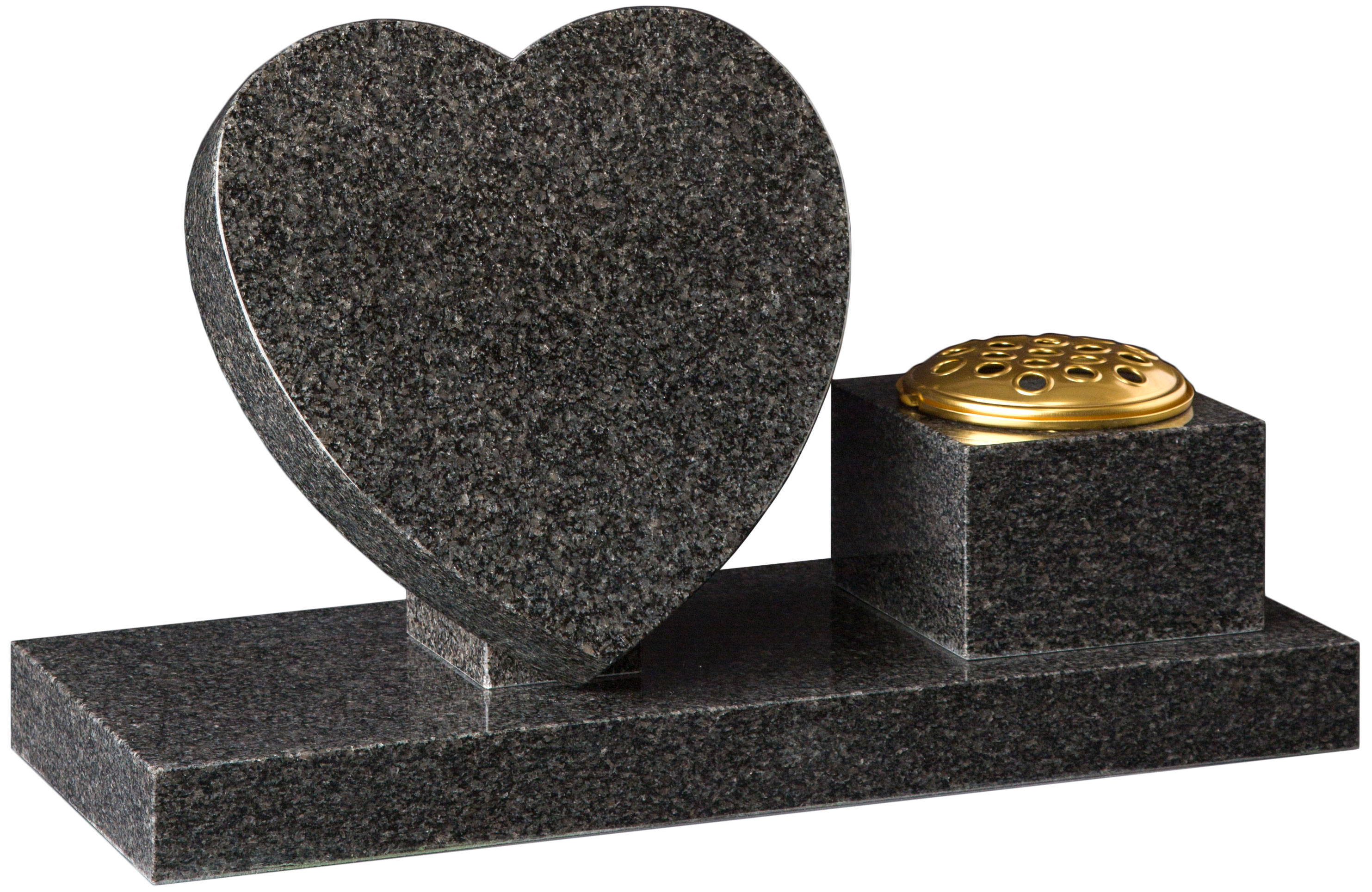 16201 Heart Tablet and vase