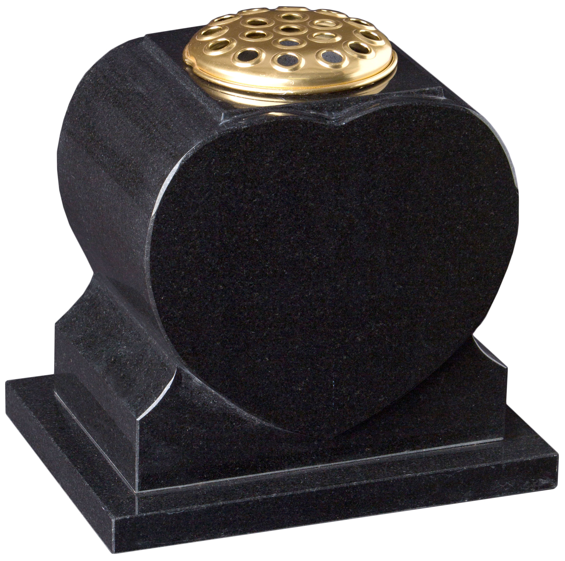 16207 Heart shaped vase